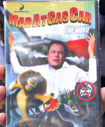 Madatgascar the movie
