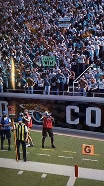 Madden really got the Jaguar fans down perfectly