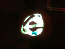 Made a Jack-o-lantern in November Its appropriate
