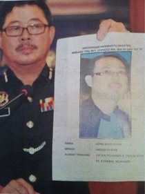 Malaysian Police Actually searching this Killer