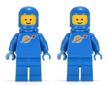 Male amp Female Lego Astronauts from s