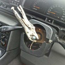 Man arrested in Australia for driving without a steering wheel uses a pair of pliers