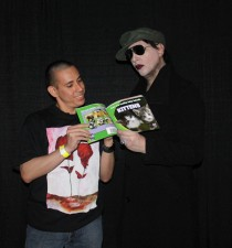 Marilyn Manson a book of kittens and me