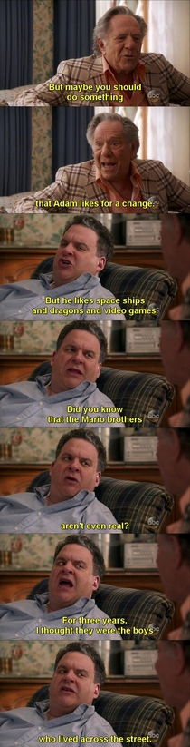 Mario Brothers x-post from rTelevisionQuotes
