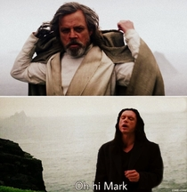 Mark Hamill meets a new Sith Lord
