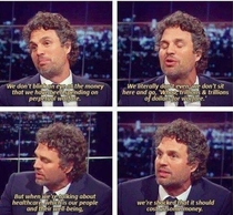 Mark Ruffalo is a solid dude