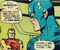 Marvel has been around long enough that at one time solid dick was slang for straight talk