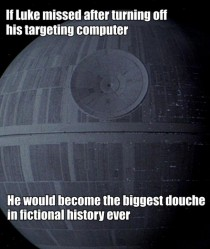 Maybe it happened in an alternate dimension of Star Wars