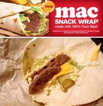 McDonalds mac snack wrap LPT just get the burger