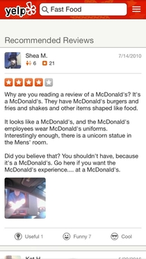 McDonalds reviewed the best way possible