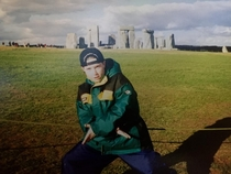 me at stonehenge in