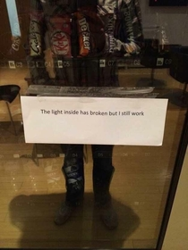 Me too vending machine me too