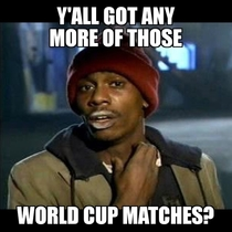 Me when I check for matches today