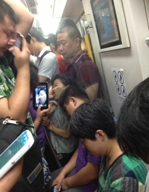 Meanwhile in a Chinese train