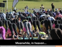 Meanwhile in heaven