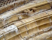 Medieval humour  Abbey of Sainte Foy Conques c