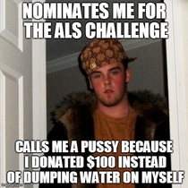 Meet my friend a true scumbag