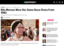 Men wear the same tuxedo year after year and nobody cares while this woman wore the same dress twice in  years and made headlines
