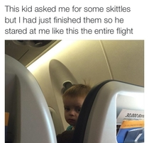 Messed with the wrong kid on the wrong plane