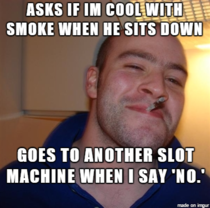 Met the Most Considerate Person at a Casino Yesterday