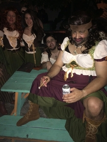 Met this sexy bar wench last night Theres nothing hotter than a babe in a bar wench costume