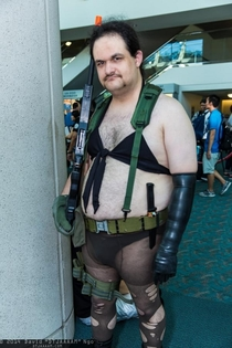 Metal Gear Solid V Cosplay Gender Swap Quiet