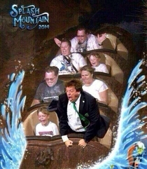 Mexicos coach spotted at splash mountain