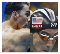 Michael Phelps is kept in captivity and forced to win golden medals
