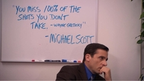 Michael Scott never left me unsatisfied