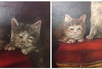 Mideval paintings of cats are weird