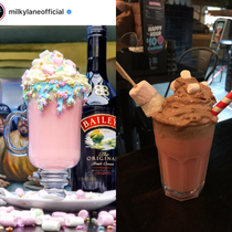 Milky Lane definitely put Expectation vs Reality with this drink