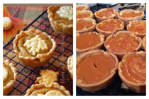Miniature pumpkin pies - damn you Pinterest