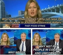 Minimum Wage - Why Stop At Fifteen Dollars