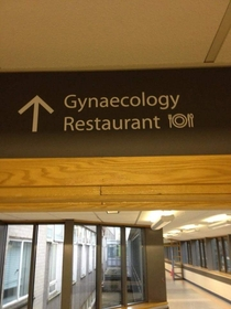 Mmm love that hospital restaurant