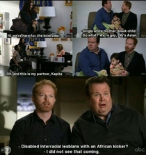 Modern Family The side interviews are my favorite parts