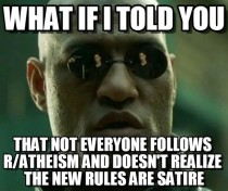 Morpheus on the new rules