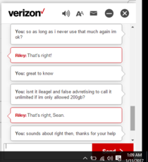 Most honest verizon rep ever
