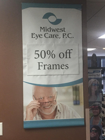 Moved to a new city and had to go to a new optometrist Safe to say that I found the right one