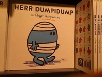 Mr Bump in Norwegian