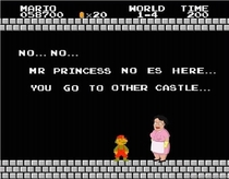 Mr princess no es here