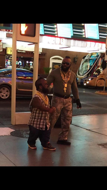 Mr T and Mr t