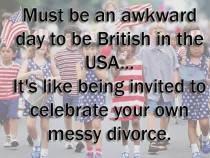 Must be awkward for the Brits