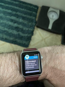 My Apple Watch thinks Ive been shitting for too long