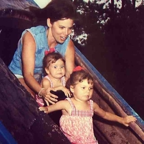 My Aunt thought it was a good idea to take her daughters on the log ride