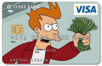 My bank just approved my new personal VISA card design gonna spend all my money