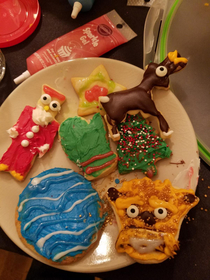 My boyfriend said he made holiday cookies