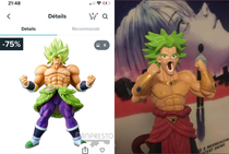 My Broly figurine I bought on Wish