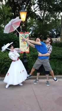 My brother-in-law and I drank a little too much at the food and wine fest at epcot