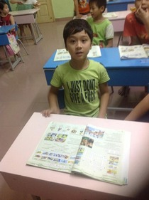 My brother teaches english in Vietnam I Dont think this young student or his parents understood what his t-shirt meant