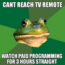 My brother threw this one randomly as he watched paid programming I told him see you on reddits front page